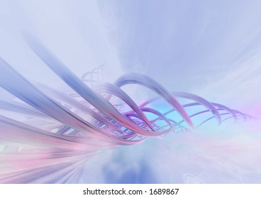 Conceptual abstract background
