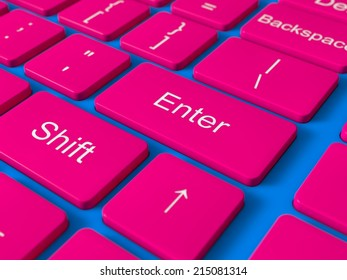 conceptual computer keyboard