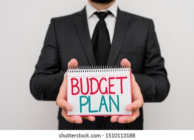 Conceptual hand writing showing Budget Plan. Business photo showcasing financial schedule for a defined period of time usually year.