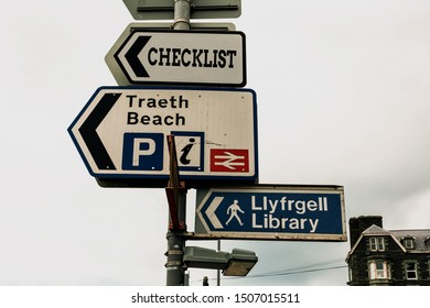 Conceptual hand writing showing Checklist. Business photo text List down of the detailed activity as guide of doing something Advertisement concept with empty copy space on the road sign.