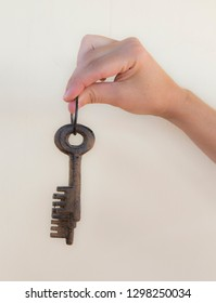 conceptual of handing over some keys