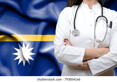 Conceptual image of national healthcare system in Nauru
