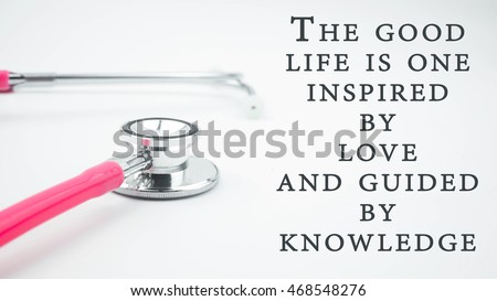 Conceptual Image Quotes Good Life One Stock Photo Edit Now
