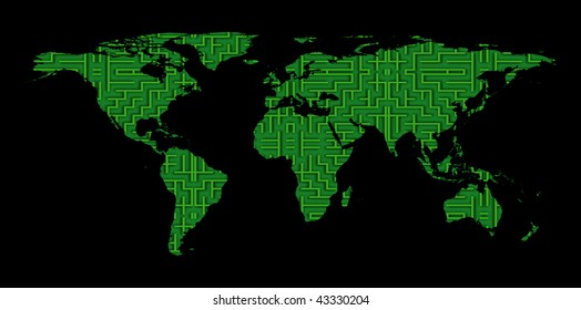 Correct World Map Stock Photos, Images & Photography ...