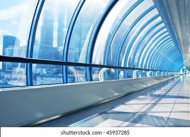 Conceptual office bridge