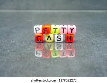 conceptual petty cash balance sheet financial stock photo edit now
