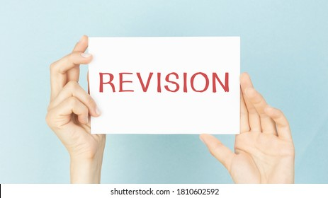 Conceptual photo action of revising over someone like auditing or accounting man holding colorful reminder square shaped paper white.