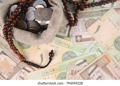 Conceptual photo for Islamic financial and economy.