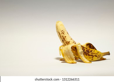 Conceptual photo of Sexually transmitted disease; STD by using bad banana to represent male genital.