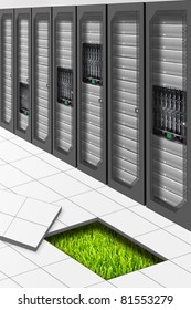A Conceptual vision of a Datacenter energetically Efficient
