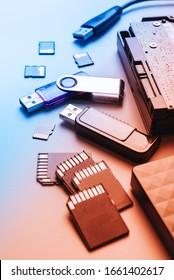 Conceptual World Backup Day background,data base safety