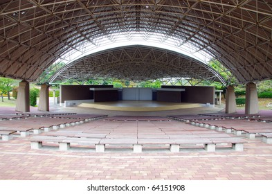 Concert hall and stage
