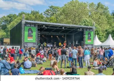 Concert At The Keti Koti Festival At Amsterdam The Netherlands 2019