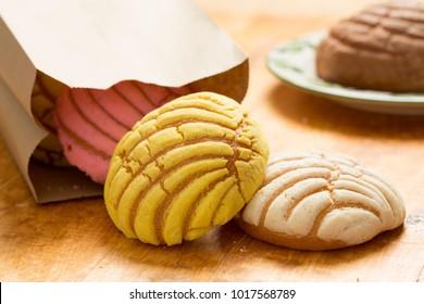 Conchas Mexican Bread