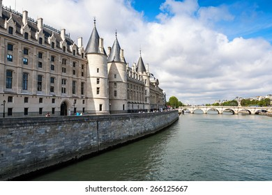 Conciergerie castle is a former royal palace and prison in Paris, France. Today it is a part of the popular complex known as the Palais de Justice. It is located on  the Cite Island