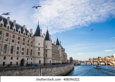 Conciergerie castle view