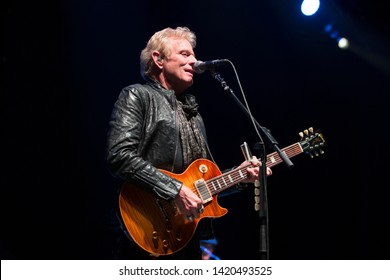 Concord, CA/USA: 4/20/19: Don Felder performs at Concord Pavilion. He's an American musician and songwriter, best known for his work as a lead guitarist of the Eagles from 1974 until 2001.