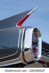CONCORD, NC (USA) - April 6, 2019:  A 1960 Cadillac Eldorado Biarritz automobile on display at the Pennzoil AutoFair Classic Car Show at Charlotte Motor Speedway.