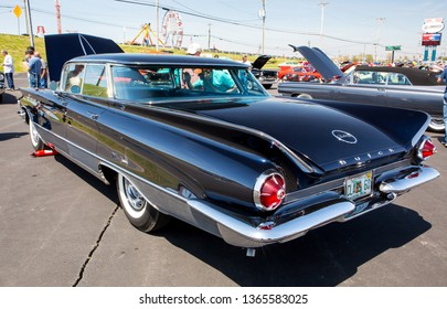 CONCORD, NC (USA) - April 6, 2019:  A 1960 Buick Electra 225 automobile on display at the Pennzoil AutoFair Classic Car Show at Charlotte Motor Speedway.
