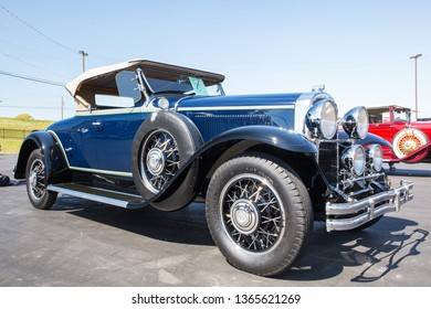 CONCORD, NC (USA) - April 6, 2019:  A 1931 Buick automobile on display at the Pennzoil AutoFair Classic Car Show at Charlotte Motor Speedway.