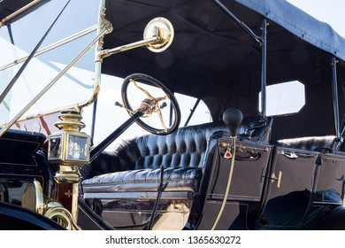 CONCORD, NC (USA) - April 6, 2019:  A 1911 Ford Model T automobile on display at the Pennzoil AutoFair Classic Car Show at Charlotte Motor Speedway.