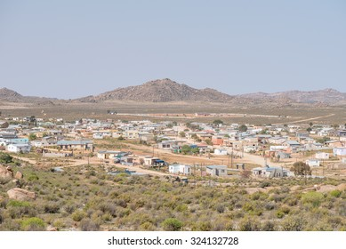 CONCORDIA, SOUTH AFRICA - AUGUST 17, 2015: View of Concordia, a small mining town in the Northern Cape Namaqualand