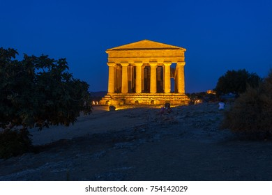 Concordia Temple in Agrigento archaeological park
