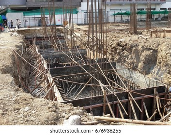 Raft or Mat Foundation Images, Stock Photos & Vectors | Shutterstock
