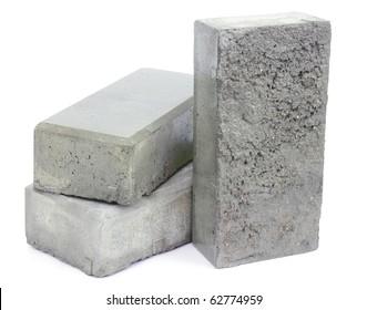 Concrete blocks for paving the sidewalk