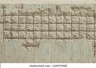 Concrete cover spalling - Steel rebars (Pesaro, Italy, Europe)