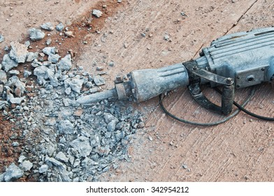 Concrete Drill.