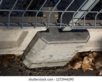 Concrete Fence Post Images, Stock Photos & Vectors