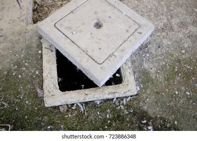 concrete inspection wells