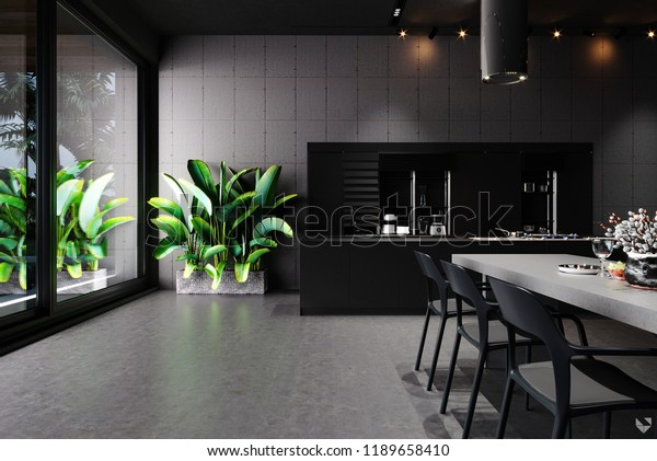 Concrete Interior Kitchen Sri Lanka Stock Photo Edit Now 1189658410