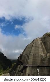 Concrete in Kurobe dam