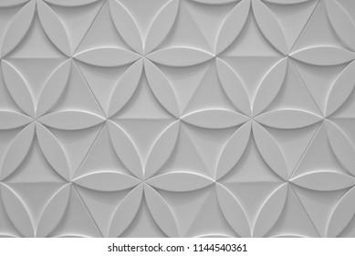 Concrete Pavement as Squama. Seamless Tileable Texture.