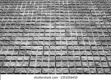 concrete pavement, texture