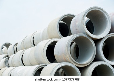 Concrete pipes for drainage - Industrial concrete pipe - Pipe Cement mortar