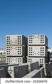 Concrete pressure vaults