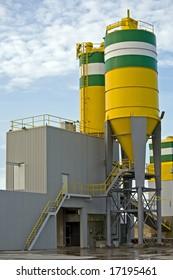 Concrete Processing Plant
