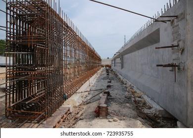 Prestressed Concrete Beam Images, Stock Photos & Vectors | Shutterstock