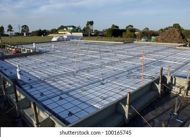 Concrete Slab for house build