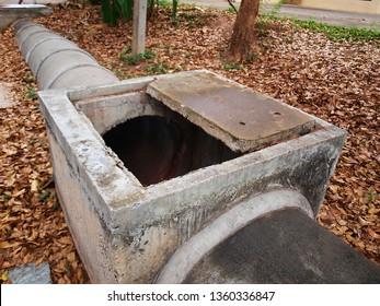 Build Concrete Sewer Systems Images, Stock Photos & Vectors