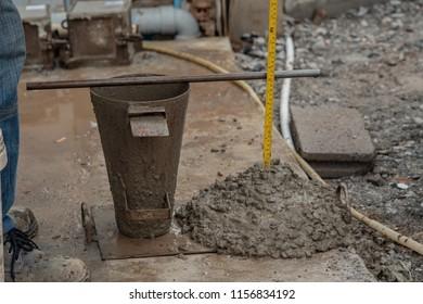 Concrete slump test,concrete density test