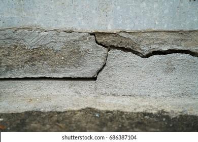Concrete Structure Crack Damage