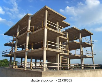 Concrete Structure of a new block of flats