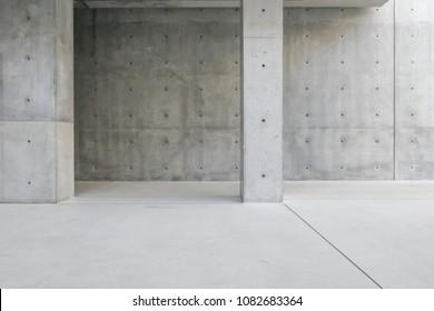 Concrete Structure Wall Pillar