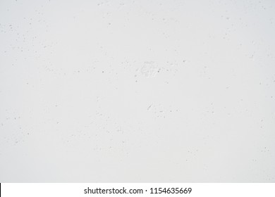 concrete surface painted in white