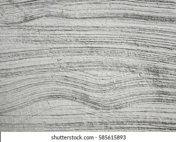 Concrete surface with patterns