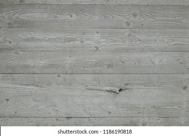 Concrete with a texture of wooden boards